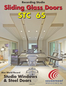 Recording Studio Window & Sliding Glass Door Brochure
