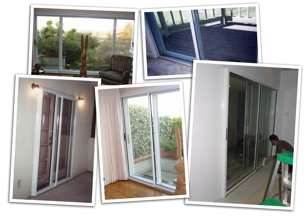Soundproof sliding glass doors soundproof windows inc for Sliding glass front door