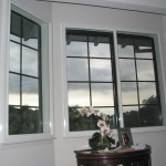 Surface mount soundproof window with sill installation