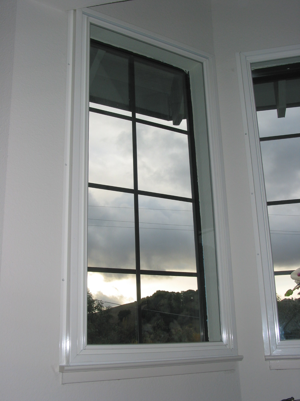 Soundproof windows - Surface Mount Soundproof Window With Sill Installation