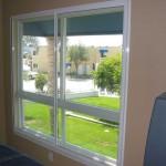 Large window soundproofed