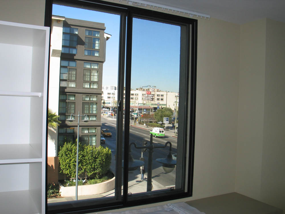 This is an extra large window.