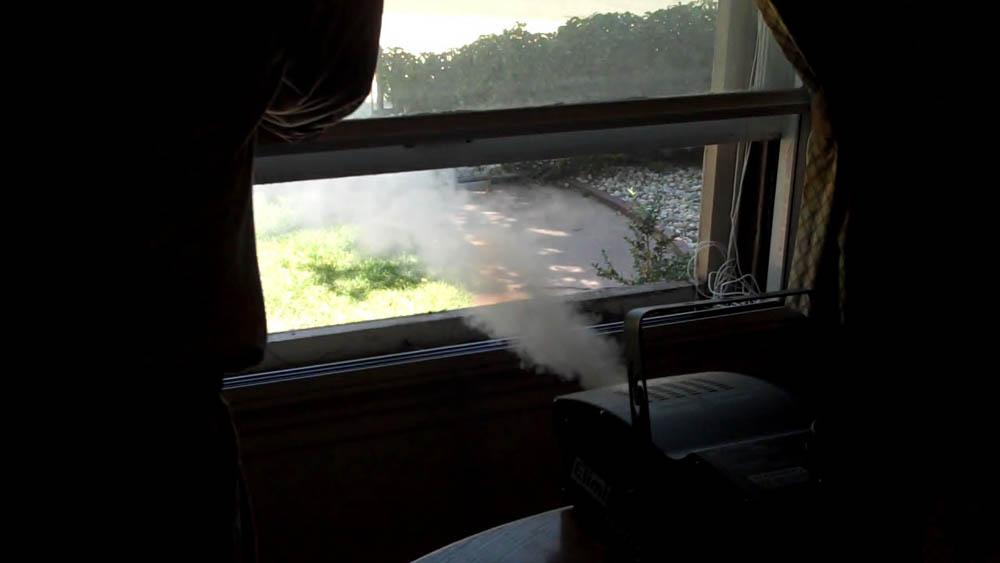 Fog Machine energy Efficiency