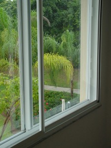 Close Up of Soundproof Windows