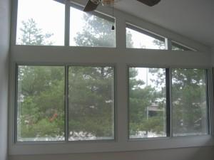 Many Soundproofed Windows