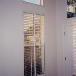 After Soundproof Window installation. Note that the blinds are between the old and new windows